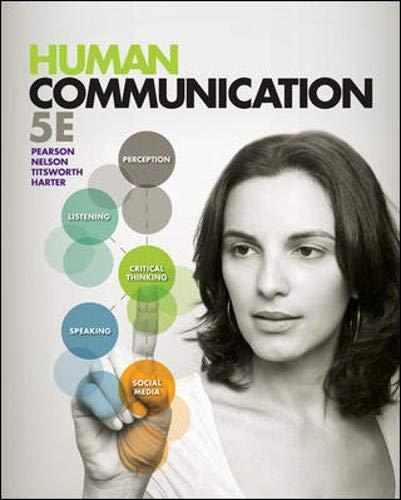 Human Communication: Pearson, Judy; Nelson,