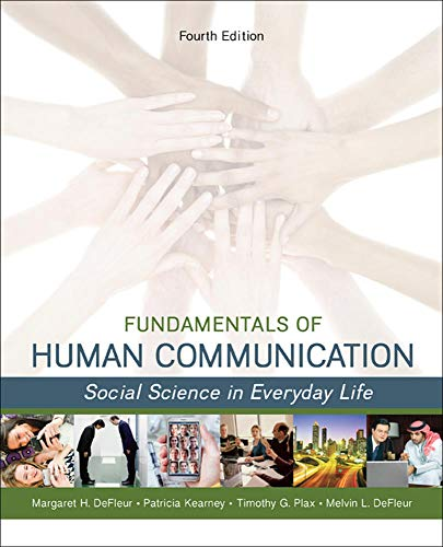 9780078036897: Fundamentals of Human Communication: Social Science in Everday Life