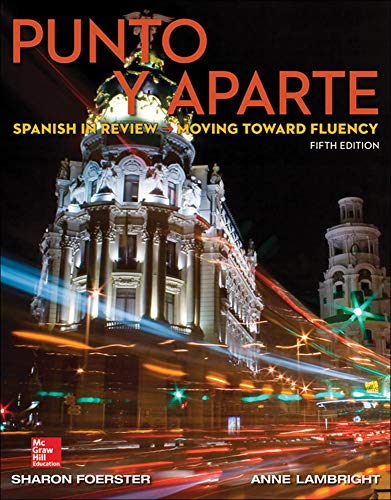 9780078037054: Punto y aparte (Spanish) Standalone Book