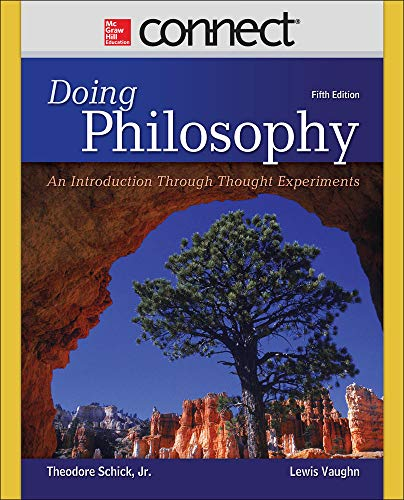 9780078038259: Doing Philosophy: An Introduction Through Thought Experiments