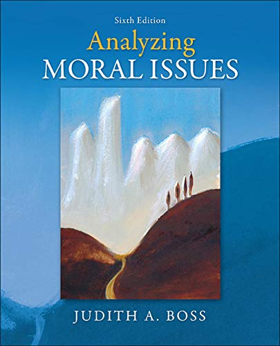 9780078038440: Analyzing Moral Issues