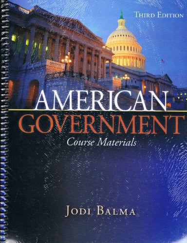 9780078038709: American Government: The Course Materials
