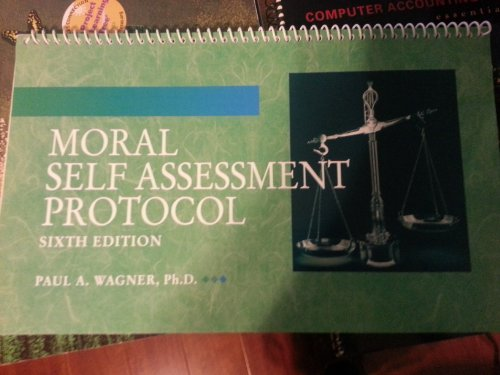 9780078039508: Moral Self Assessment Protocol Sixth Edition