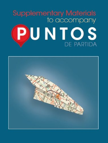 9780078040009: Supplementary Materials to Accompany Puntos
