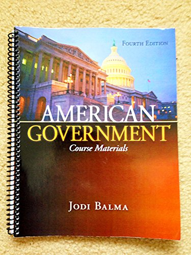 9780078040139: American Government Course Materials