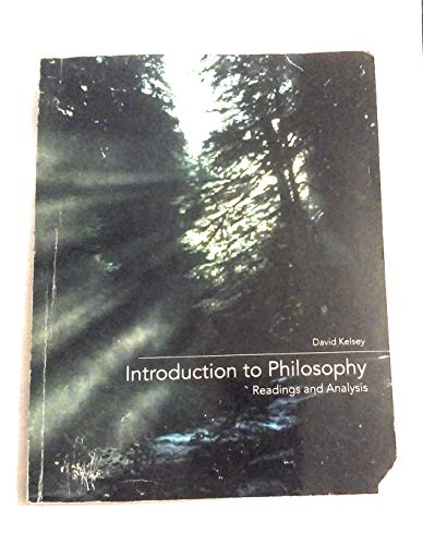 9780078040320: Introduction to Philosophy Reading and Analysis