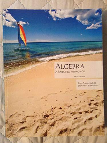 9780078043192: Algebra : A Simplified Approach - Custom Edition.