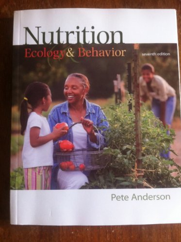 9780078043529: Nutrition: Ecology and Behavior