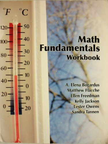 9780078043574: Math Fundamentals Workbook (Camden County College)