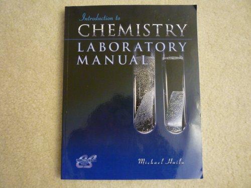 Laboratory manual chemistry abebooks introduction to chemistry laboratory manual columbus state michael hailu fandeluxe Images