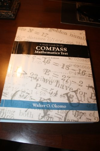 9780078043994: A Study Guide for the Compass Mathematics Test, Fourth Edition