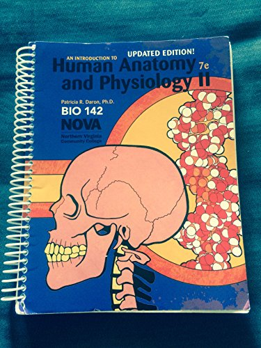 9780078044465: An Introduction to Human Anatomy and Physiology II 7th edition (updated edition)