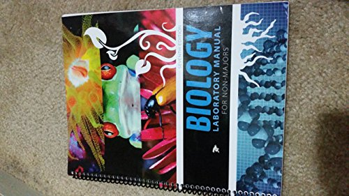 9780078045080: Biology Laboratory Manual for Non-Majors, 7th Edition