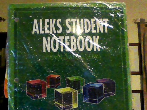 9780078045202: Aleks Student Notebook Intermediate Algebra
