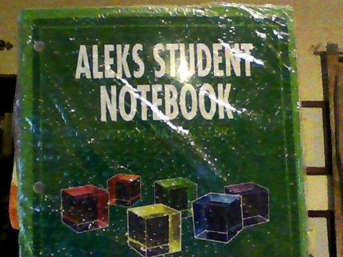 9780078045202: Aleks Student Notebook Intermediate Algebra