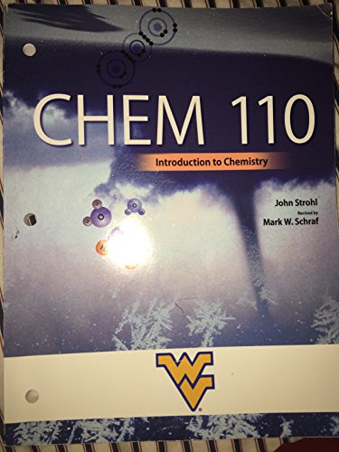 9780078045264: introduction to chemistry (chem 110)