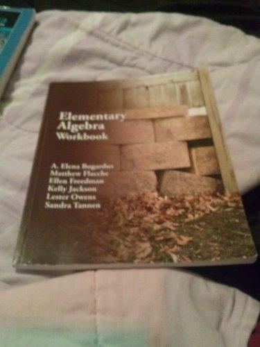 9780078046032: Elmentary Algebra Workbook