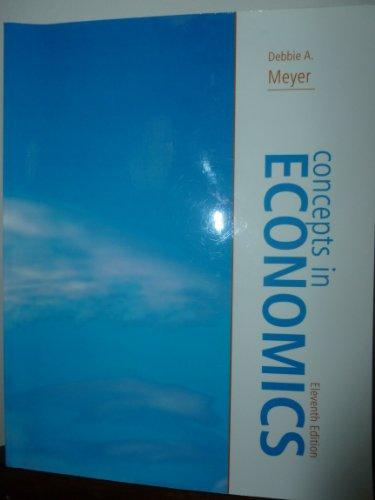 9780078047435: Concepts in Economics, 11th Edition