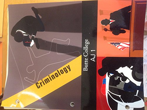 9780078048111: Criminology Eight Edition Butte College Aj1