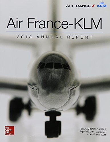 9780078048685: Airfrance Klm -2013 Annual Report