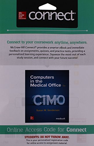 9780078049637: Connect Access Card for Computers in the Medical Office