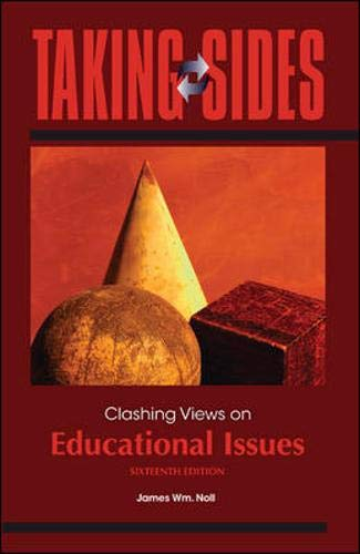 9780078049972: Taking Sides: Clashing Views on Educational Issues