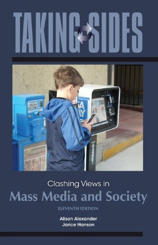 9780078049989: Taking Sides: Clashing Views in Mass Media and Society