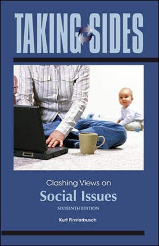 9780078050015: Taking Sides: Clashing Views on Social Issues