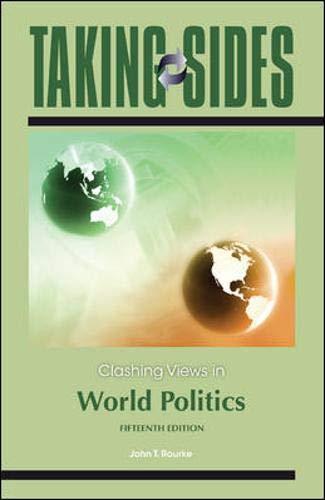 9780078050107: Taking Sides: Clashing Views in World Politics