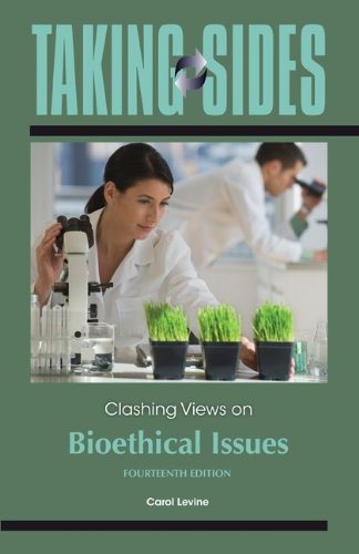 9780078050114: Taking Sides: Clashing Views on Bioethical Issues