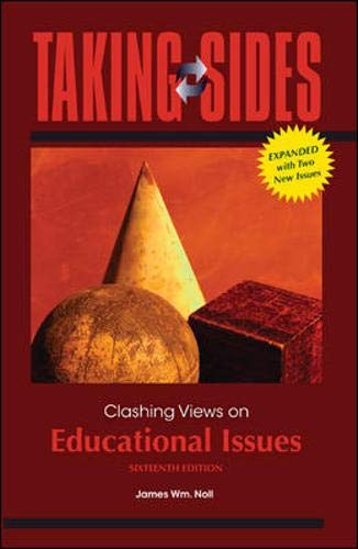 9780078050145: Taking Sides: Clashing Views on Educational Issues, Expanded