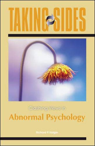 9780078050169: Taking Sides: Clashing Views in Abnormal Psychology (Annual Editions)