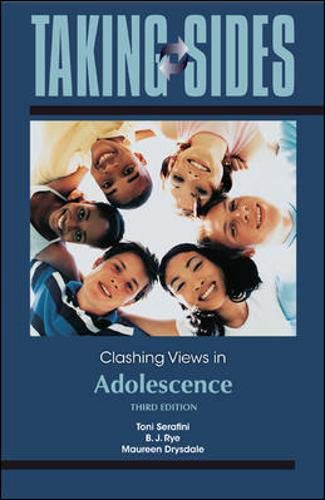 9780078050190: Taking Sides: Clashing Views in Adolescence