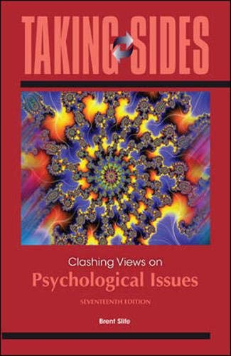 9780078050268: Taking Sides: Clashing Views on Psychological Issues