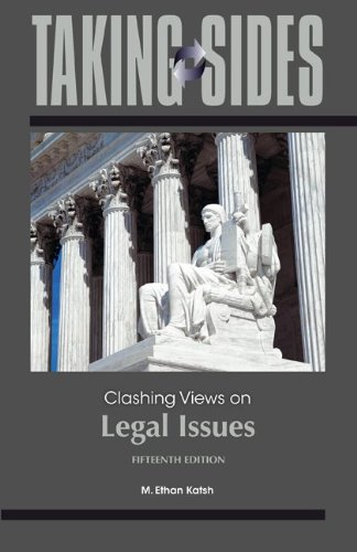 9780078050282: Taking Sides: Clashing Views on Legal Issues, 15th Edition