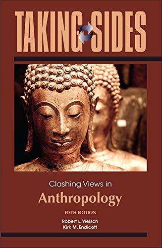 9780078050343: Taking Sides: Clashing Views in Anthropology