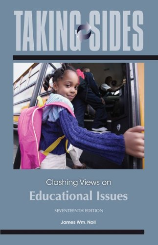 9780078050350: Taking Sides: Clashing Views on Educational Issues