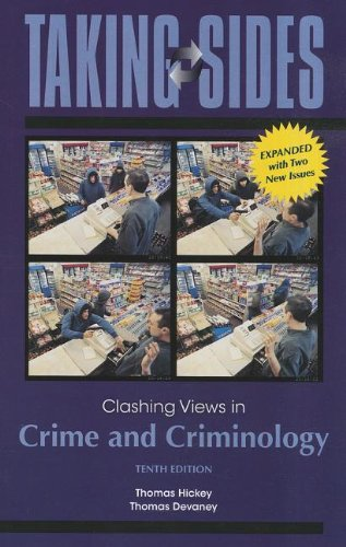 9780078050374: Taking Sides: Clashing Views in Crime and Criminology, Expanded