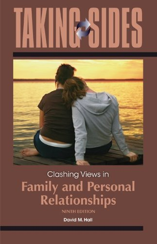9780078050381: Clashing Views in Family and Personal Relationships (Taking Sides: Family & Personal Relationships)