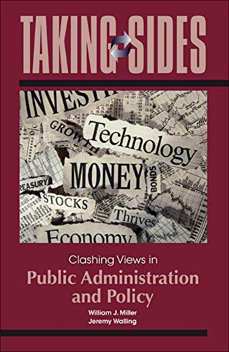 9780078050404: Taking Sides: Clashing Views in Public Administration and Policy