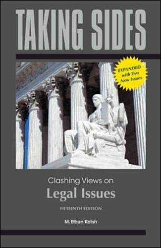 9780078050497: Taking Sides: Clashing Views on Legal Issues, Expanded
