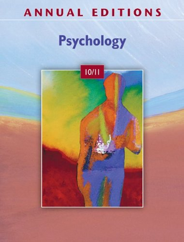 9780078050534: Annual Editions: Psychology 10/11