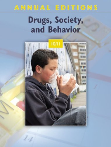 9780078050664: Annual Editions: Drugs, Society, and Behavior 10/11