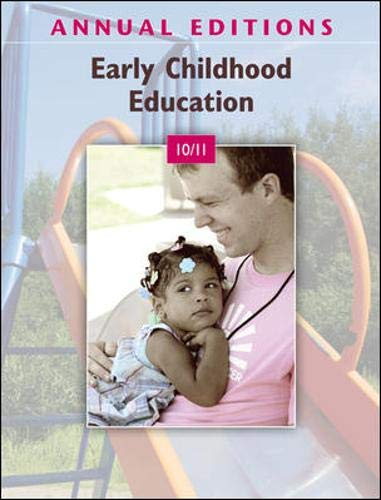 9780078050671: Annual Editions: Early Childhood Education 10/11