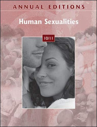 Annual Editions: Human Sexualities 10/11: Bobby Hutchison