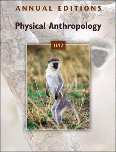 9780078050695: Annual Editions: Physical Anthropology 11/12
