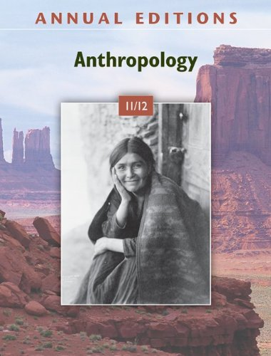 9780078050701: Annual Editions: Anthropology 11/12