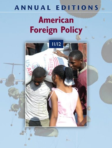 9780078050718: Annual Editions: American Foreign Policy 11/12