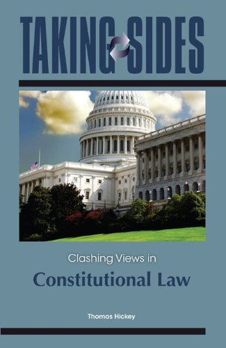 9780078050794: Taking Sides: Clashing Views in Constitutional Law
