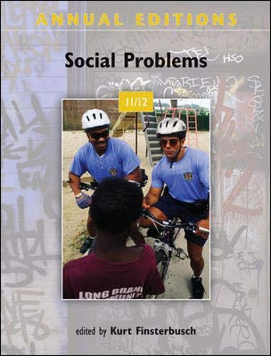 9780078050855: Annual Editions: Social Problems 11/12